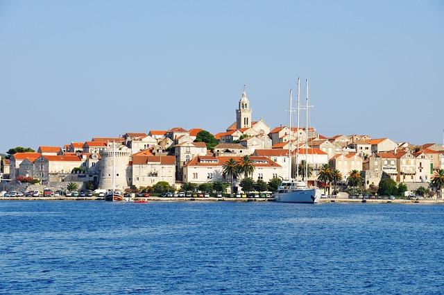 Korcula, une cité balnéaire à taille humaine en Croatie