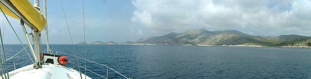 Traversée en catamaran de Split à Lastovo - Croatie