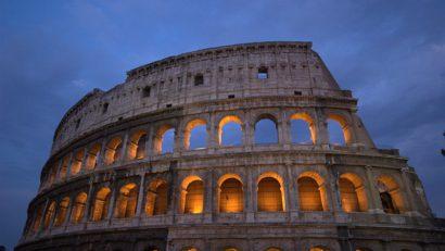 Le colossal Colisée de Rome