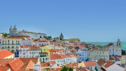 Alfama Lisbonne Portugal couleurs