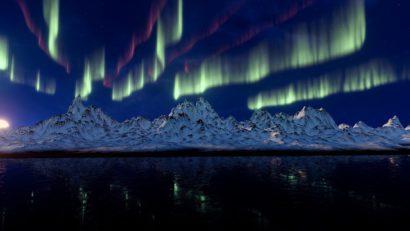 aurore boréale canada lac supérieur