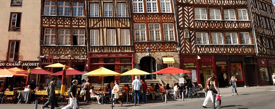 Maison à pans de bois à Rennes