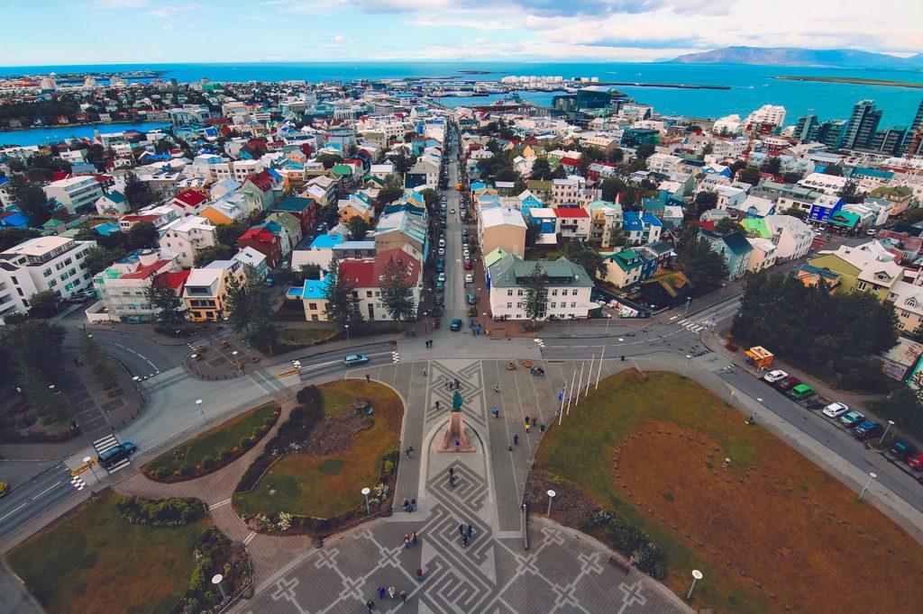 reykjavik capitale de l'île