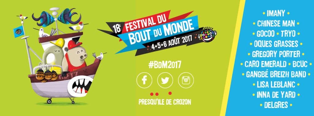 Festival du Bout du Monde Crozon Bretagne