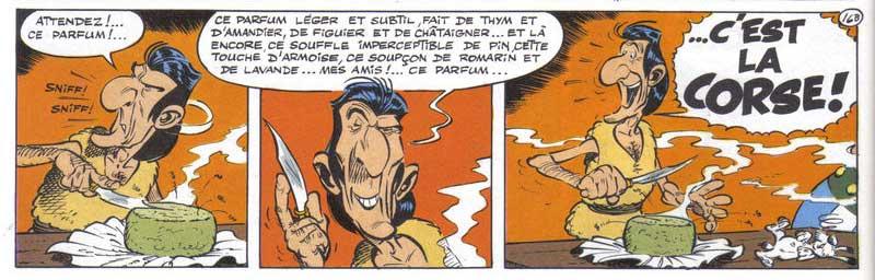 La Corse et Asterix
