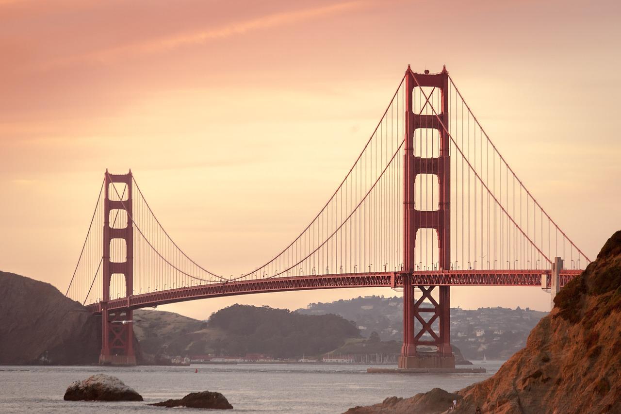 Pont du Golden Gate à San Fransisco