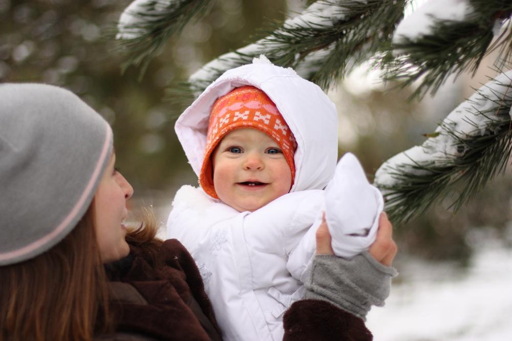 Vacances à la neige avec bébé