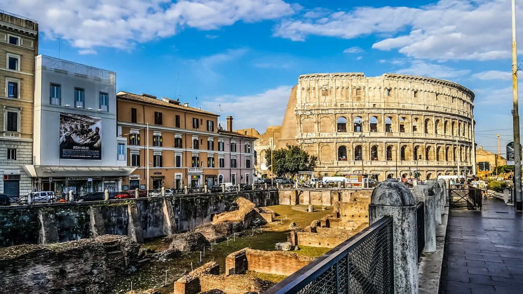 Voyage scolaire à Rome