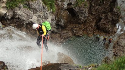Canyoning en France