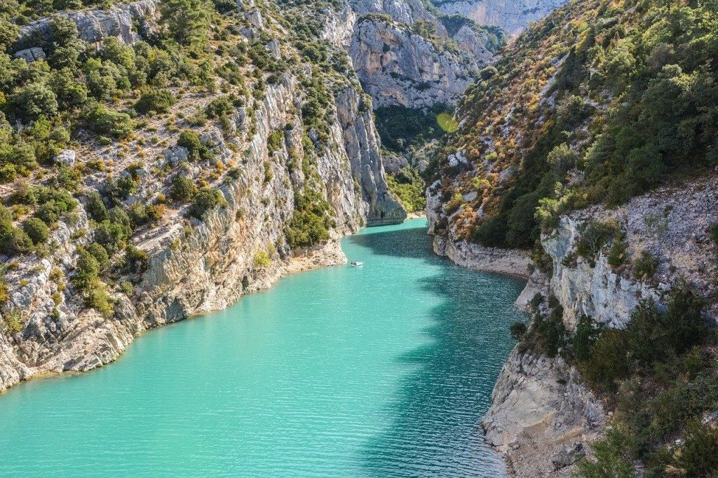 Gorges du Verdon Sud France