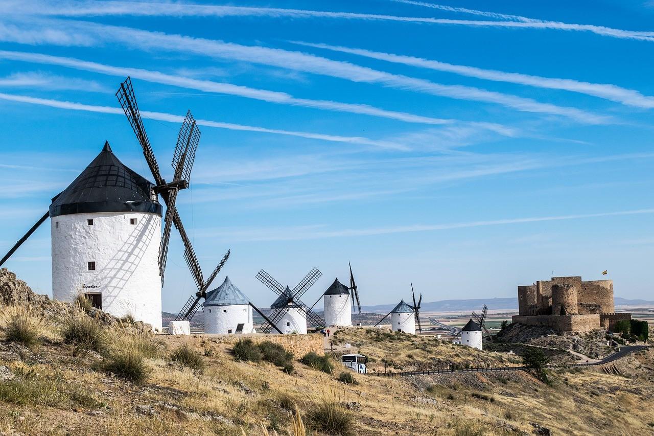 Découvrir les moulins en Espagne