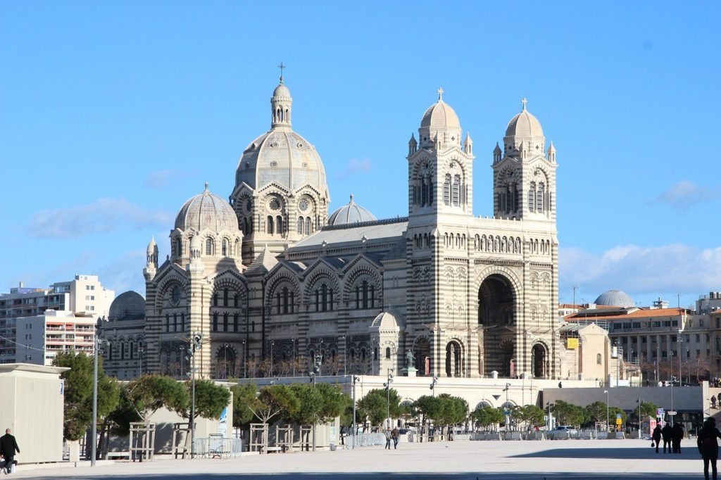 Marseille Cathedrale La Major Joliette