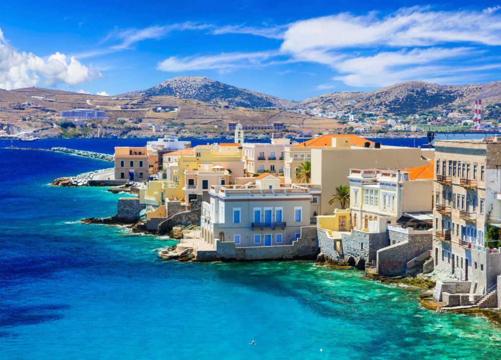 Syros dans les Cyclades en Grèce