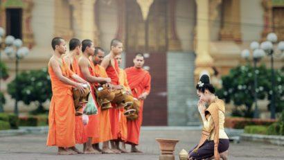 Bangkok moines et prières