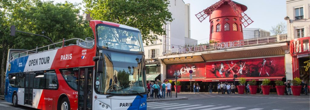 bus hop-on hop-off à Paris