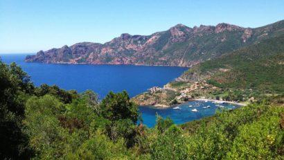 Girolata et Scandola en Corse