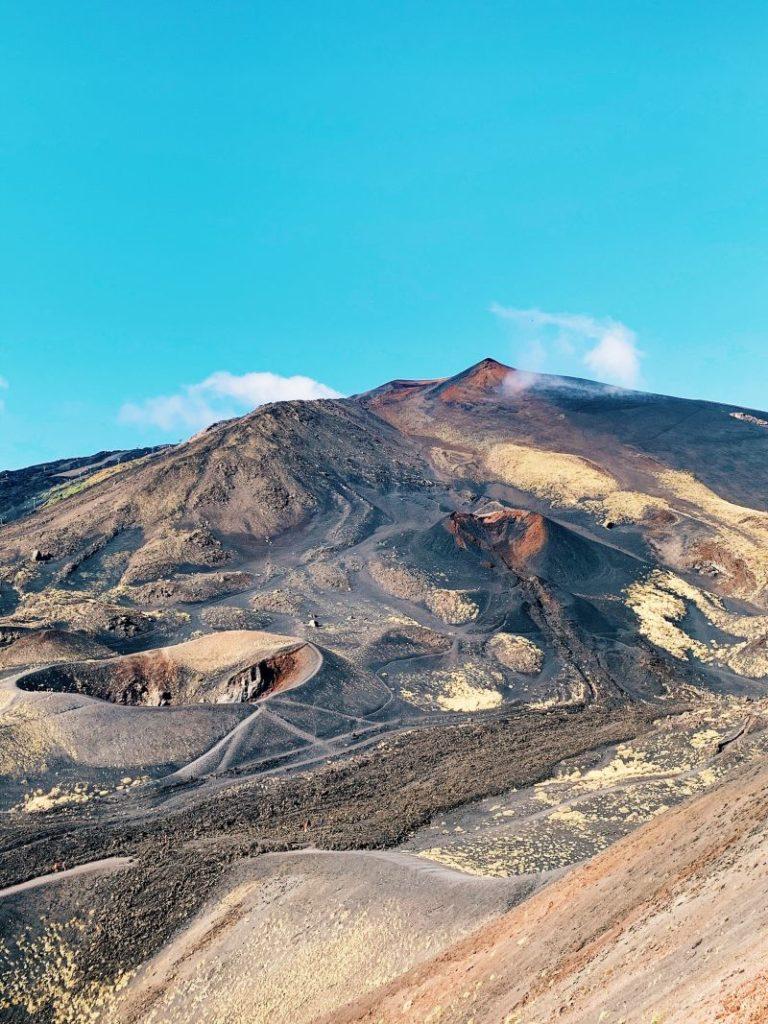 Les paysages de Volcans en Sicile - Etna