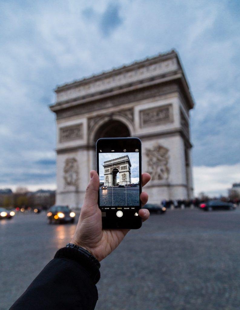 Fan de voyage en France