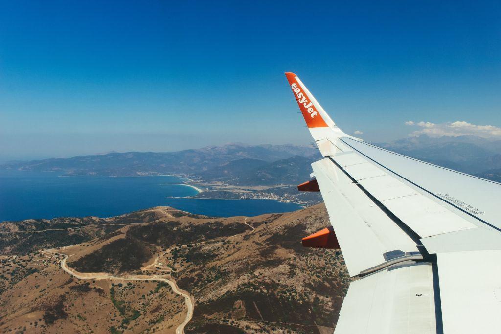 Arriver à Ajaccio en avion