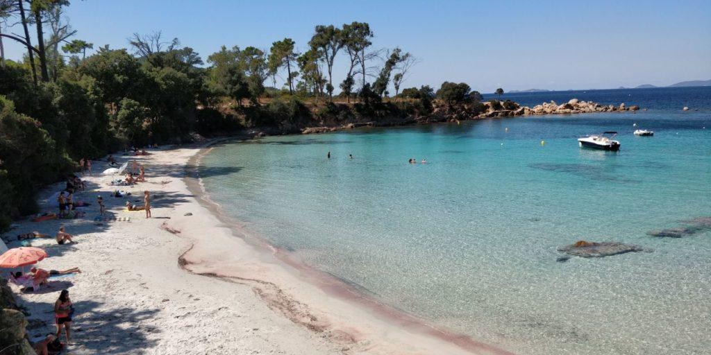 La plage de Mare E Sole - Plage d'Argent - Pietrosella