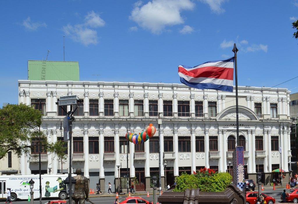 La capitale San Jose au Costa Rica